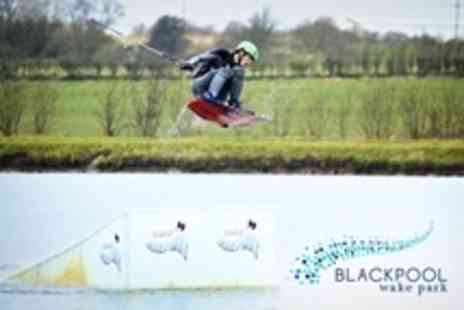Blackpool Wakepark - One Hour Paddleboarding Lesson - Save 33%