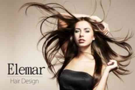 Elemar Hair Design - Full Head Highlights With Cut and Blow Dry - Save 60%