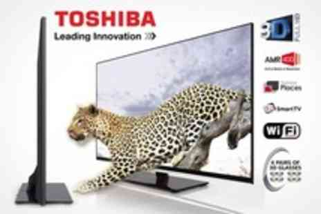 PRC Direct - Toshiba 55 3D LED Backlit Smart TV With Accessories - Save 17%