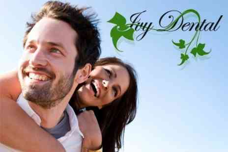 Ivy Dental Practice - Single Dental Implant with Abutment and Ceramic Crown for £995 - Save 58%