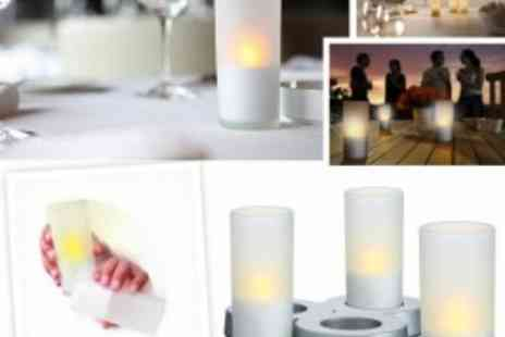 Philips - 3x Philips Imageo Candle Lights With Flickering Effect - Save 55%