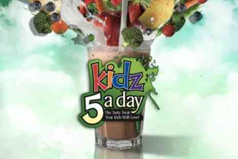 Kidz 5 A Day - 30 Day Supply of Chocolate Flavoured Shake For Kids - Save 75%