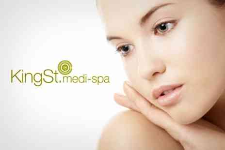 KingSt Medi Spa - Murad Signature Massage, Facial And Shellac Manicure Or Pedicure - Save 76%