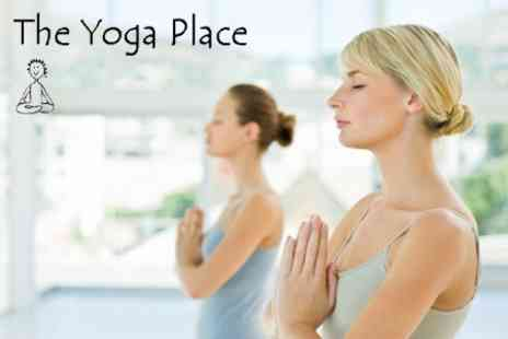 The Yoga Place - Ten Individual Yoga Sessions For £27 - Save 70%