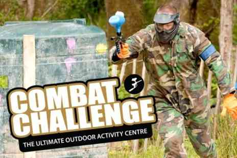 Combat Challenge - Paintballing Experience For Two - Save 60%