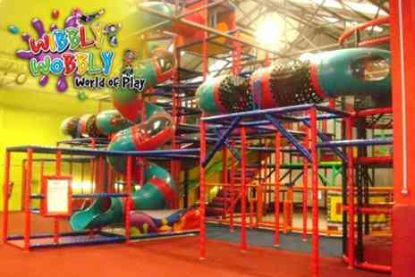 Wibbly Wobbly World of Play - Ten Entry Passes for One Child and Entry for Two Adults - Save 60%