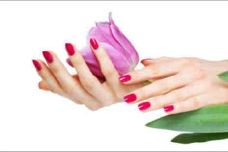 Sugar Hair and Beauty Salon - Shellac manicure and polish - Save 70%