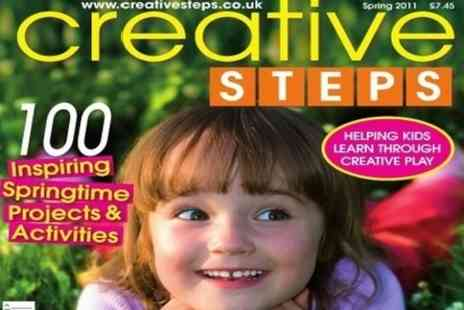 Creative Steps Magazine - 12 Months Subscription to Magazine for parents and kids - Save 50%
