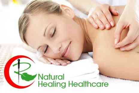 Natural Healing Healthcare - Hour Long Relaxation Massage or Acupuncture Session - Save 63%
