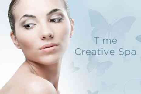 Time Creative Spa - Three Sessions of Crystal Clear Microdermabrasion - Save 63%