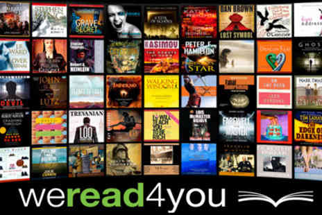 WeRead4You - £9 for a £35 voucher to spend on over 8,000 audio books from We Read 4 You  - Save 74%