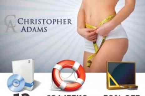 Christopher Adams - Weight Loss Deal -  Gastric Band Hypnotherapy Audio Flashdrive Package - Save 94%
