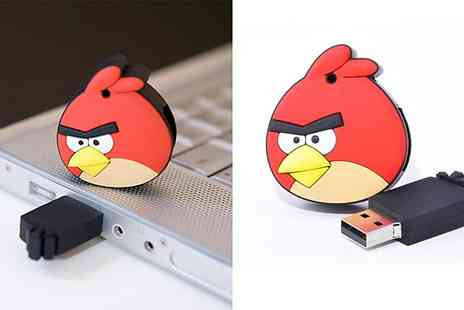 Angry Birds - 4GB Character USB To Brighten Your Dull Desktop - Save 53%