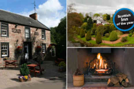 The Stair Inn - Two night Ayrshire break for two with breakfast and bottle of wine - Save 63%