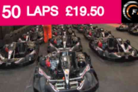 Formula 1 Karting - 50 Lap Go Karting Race Complete With Print Out Of Lap Times - Save 59%