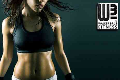 Walker Bros Fitness - One Months Worth of Fitness Classes - Save 75%