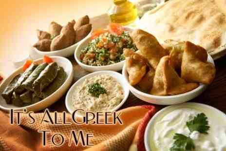 It's All Greek 2 Me - Fourteen Course Greek Meze Meal For  Four - Save 62%