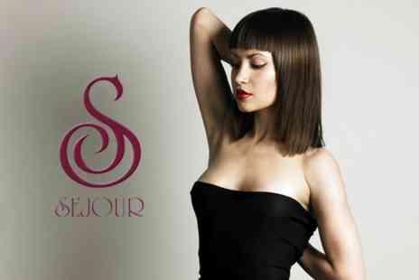 Sejour - Half Head of Highlights or Semi Colour, Plus a Cut, Blow Dry and Express Manicure for £59 - Save 76%