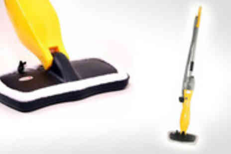 4 Home Beds - Deep clean your home with a Steam Mop and Carpet Glider - Save 57%