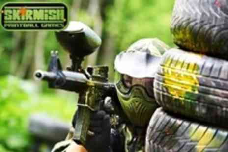 Paint Ball UK Various Locations - Paintballing For Two With 100 Paintballs Each and Light Lunch - Save 77%