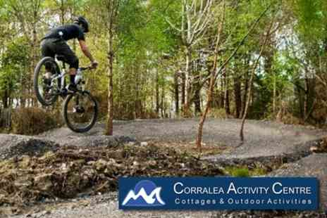 Corralea Activity Centre - Two Night Self Catering Cottage Break for Four Plus Surfing or Biking Experience - Save 52%