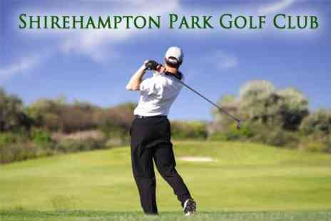 Shirehampton Park Golf Club - Two Video Golf Lessons For Two - Save 75%