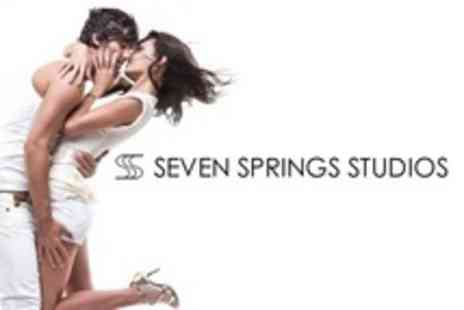 Seven Springs Studios - Makeover Photoshoot For One With Retouched A4 Print - Save 79%