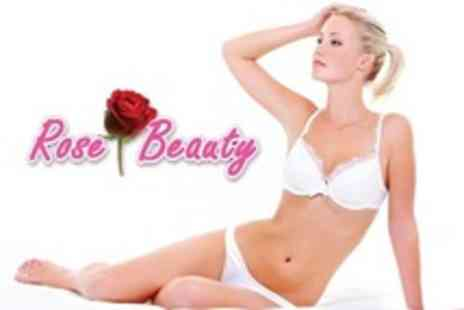 Rose Beauty - IPL Hair Removal Six Sessions on Two Small Areas or One Medium or One Large Area - Save 92%