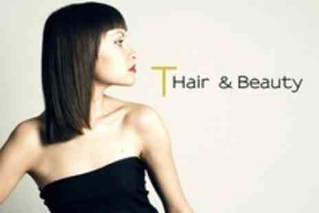 T Hair and Beauty - Wash, Cut and Blow Dry - Save 37%