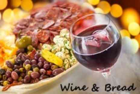 Wine and Bread - Six Tapas For Two People Plus Jug of Sangria - Save 37%