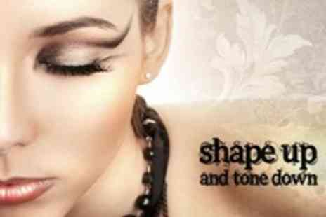 Shape Up and Tone Down - Semi Permanent Make Up - Save 65%