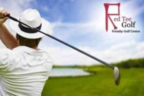 Red Tee Golf - Golf Lessons With Video Analysis - Save 36%