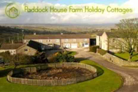 Paddock House Farm - In Peak District Three Night Self Catering Stay For Two - Save 34%