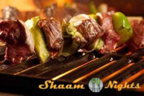 Shaam Nights - Two Course Lebanese Meal For Two - Save 51%