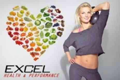 Excel Health and Performance - Six Week Boot Camp Plus Nutrition Plan - Save 50%