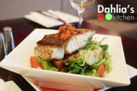Dahlias Kitchen - Three Course Bistro Meal For Two - Save 20%