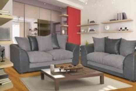 World of Sofa Beds - Two and Three Seater Sofa Set or Corner Sofa With Choice of Colours - Save 50%