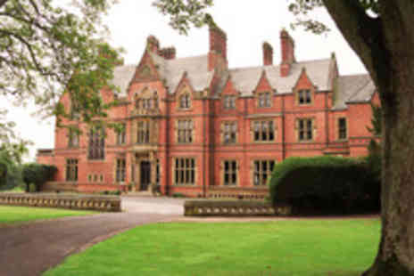 Wroxall Abbey Estate & Spa - Two night stay for 2 inc breakfast, bottle of wine plus full spa access - Save 50%