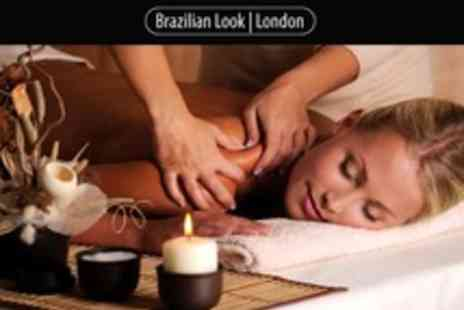 Brazilian Look - One Hour Full Body Massage OR a wash, cut, blow dry - Save 70%