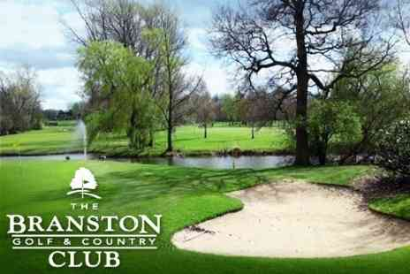 The Branston Golf and Country Club - 18 Hole Round of Golf For Two With Lunch - Save 61%
