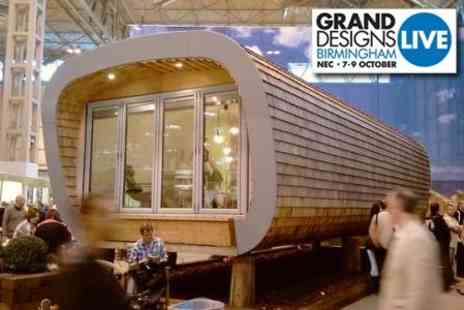 Grand Designs Live Birmingham - Two Tickets to Grand Designs Live Plus a Show - Save 50%