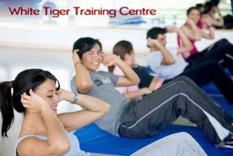 White Tiger Training Centre - Ten Fitness Classes or Power Plate Sessions - Save 80%