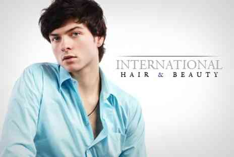 International Hair and Beauty - Authentic Turkish Shave, Haircut and Head Massage - Save 60%
