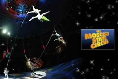 The Moscow State Circus - Two Tickets to Babushkin Sekret - Save 58%