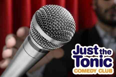 Just the Tonic Comedy Club - Live Comedy With Pizza and Drink Plus Nightclub Entry For Two - Save 63%