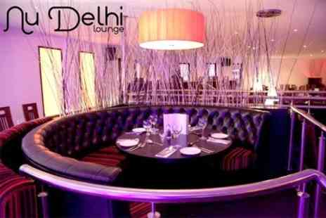 Nu Delhi Lounge - 14 Piece Indian Platter For Two With Cocktail Each - Save 60%