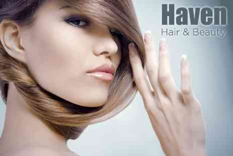 Haven Hair & Beauty - Half Head of Highlights With Wash, Cut and Conditioning Treatment for £29 - Save 76%