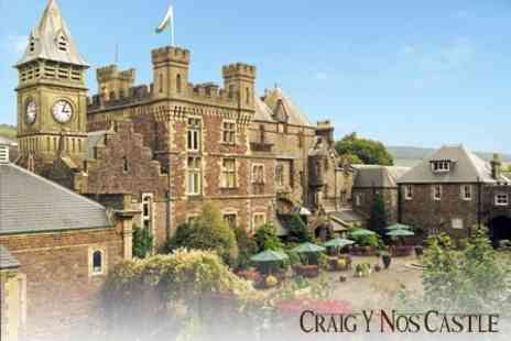 Craig Y Nos Castle - Overnight Stay for Two with Castle Tour, Three Course Meal and Breakfast for £105 - Save 59%