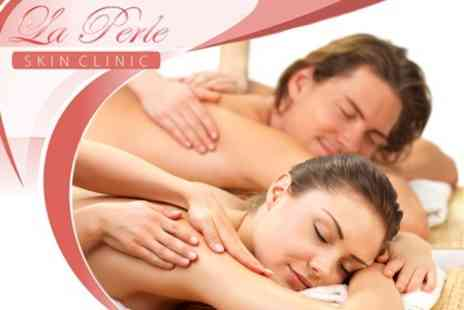 La Perle Clinic - Full Body Massage For Two With Choice of Hot Stone, Swedish or Hot Chocolate for £59 - Save 73%