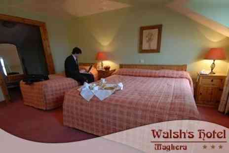 Walshs Hotel - Two Night Stay For Two with Evening Meal and Bottle of Wine - Save 53%